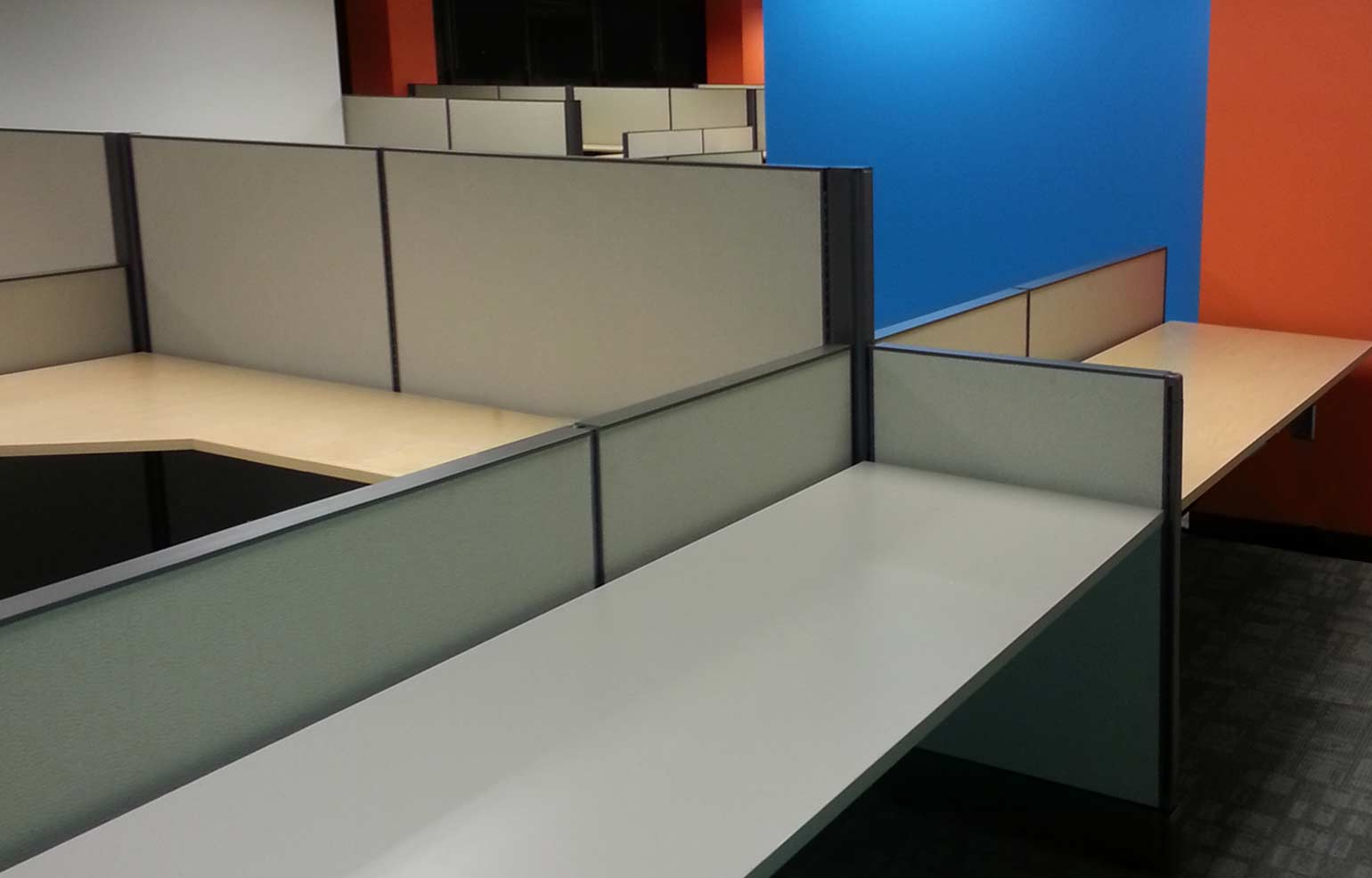 Devon Office Furniture's Office Cubicle Installations