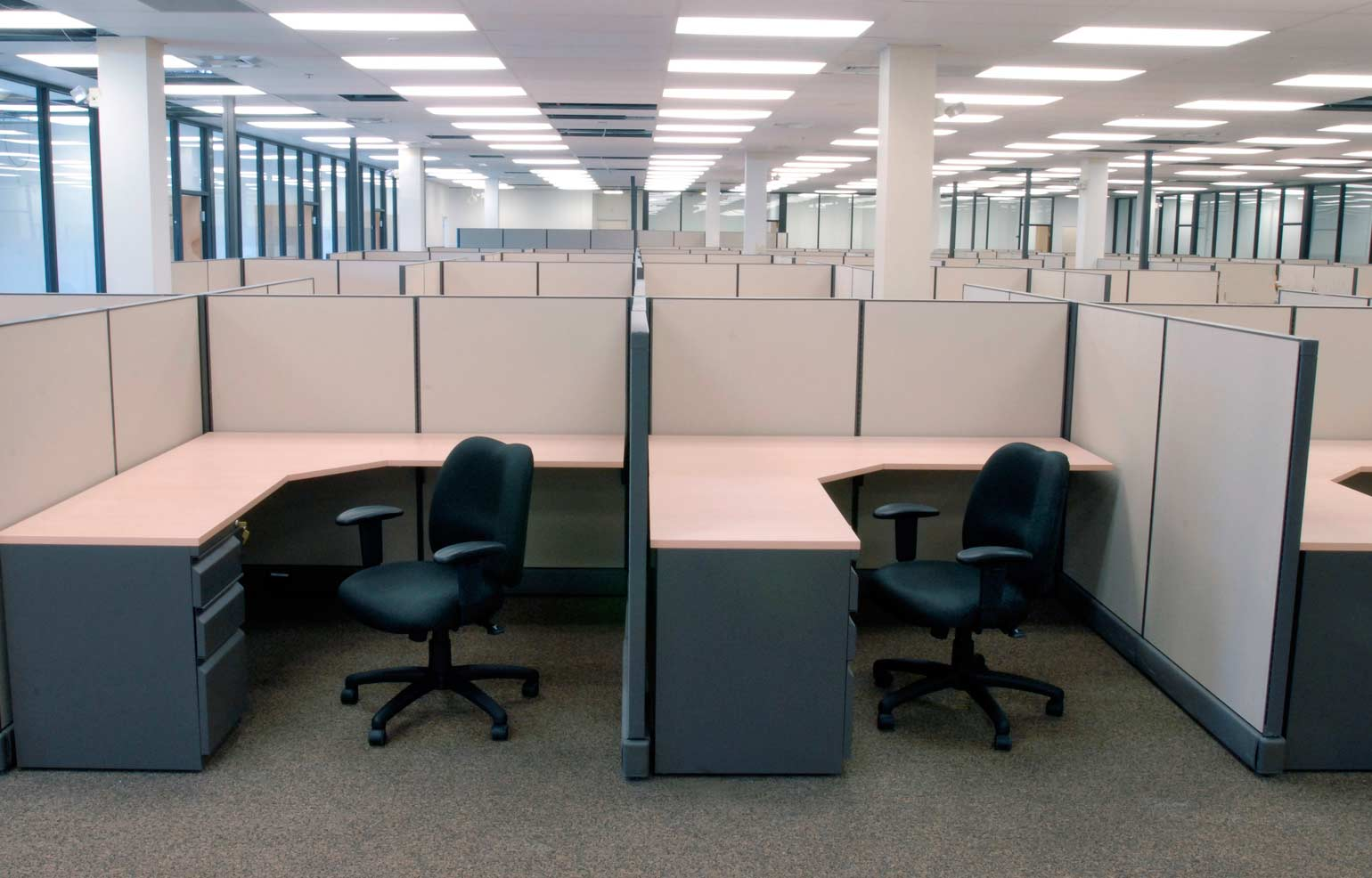 Devon Office Furniture S Office Cubicle Installations